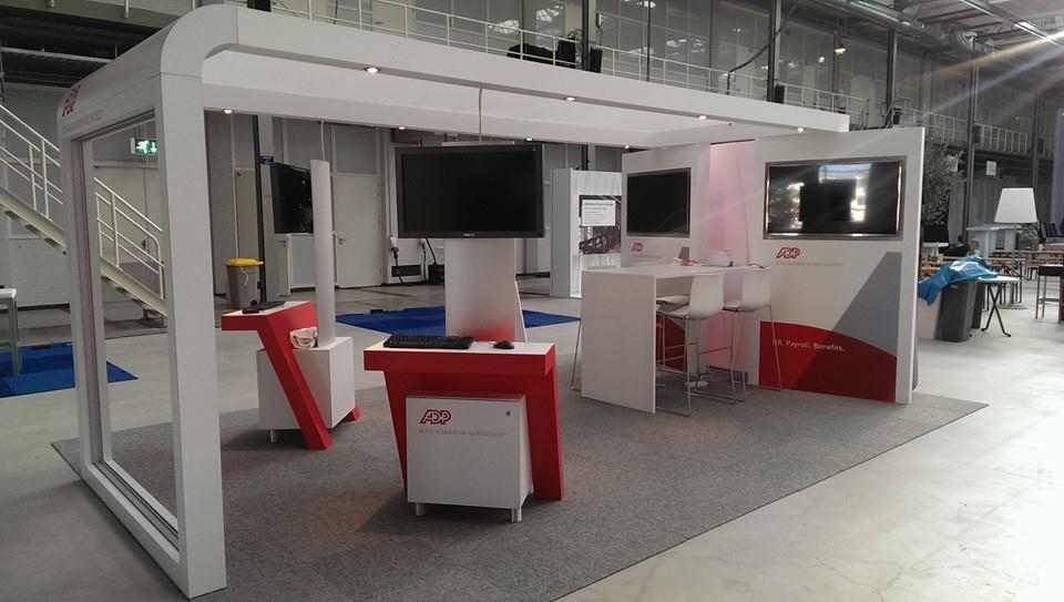 Standbouw - ADP - HR Live - Den Haag - zij aanzicht stand